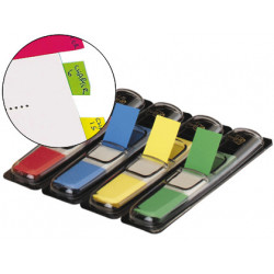 Banderitas separadoras 6834 dispensador 4 colores