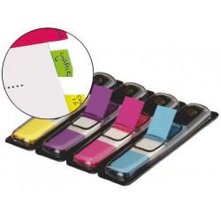 Banderitas separadoras 6834ab dispensador 4 colores brillantes