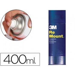 Pegamento scotch spray remoun 400 ml adhesivo reposicionable indefinidament