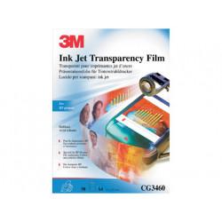 Transparencia 3m din a4 cg3460 especial impresoras hp deskjet con banda rem