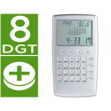 Calculadora p929w aluminio calendario