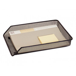 Bandeja sobremesa metalica gxa30 rejilla negra 280x55x365 mm