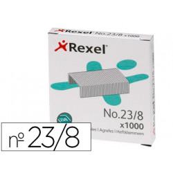 Grapas rexel 23/8 acero caja de 1000 unidades