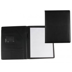 Carpeta portafolios 80728k negra 320x250 mm sin cremallera sin asa con de