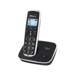 Telefono inalambrico spc telecom 7608n teclas digitos y pantalla extra gran