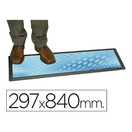 Alfombra planning sisplamo transparente con funda personalizable 297x84cm