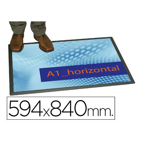 Alfombra planning sisplamo transparente con funda personalizable 594x84cm