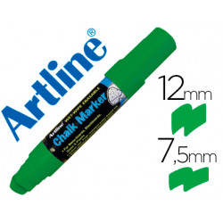 Rotulador artline pizarra verde negra epw12 mm color verde
