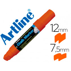 Rotulador artline pizarra verde negra epw12 mm color naranja