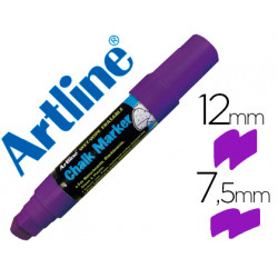 Rotulador artline pizarra verde negra epw12 mm color violeta