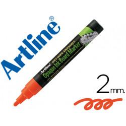 Rotulador artline pizarra verde negra epw4 na color naranja bolsa de 4 rot