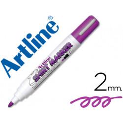 Rotulador artline camiseta ekt2 violeta punta redonda 2 mm para uso en cam