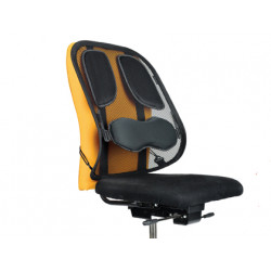 Respaldo ergonomico fellowes mesh professional apoyo lumbar ajustable verti