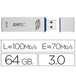 Memoria usb emtec flash 64 gb 30 100 mb/s
