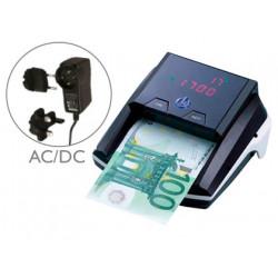 Detector y contador qconnect de billete falsos con cargador electrico puer