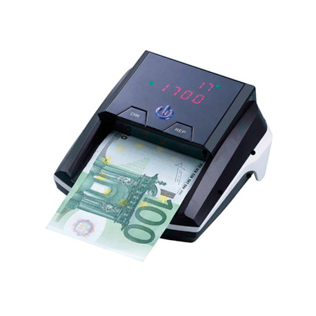 Detector y contador qconnect billetes falsos portatil con puerto usb para