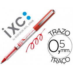 Rotulador roller inoxcrom free ink office campus rojo 05mm