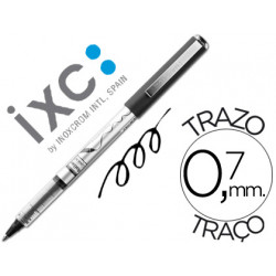 Rotulador roller inoxcrom free ink office campus negro 07mm