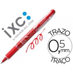 Rotulador roller inoxcrom free ink campus con grip rojo 05 mm