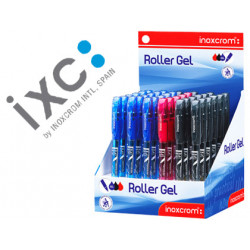 Rotulador roller inoxcrom long gel office campus colores surtidos 06mm