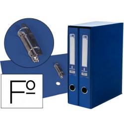 Modulo liderpapel 2 archivadores folio 2 anillas mecanismo de palanca 75mm