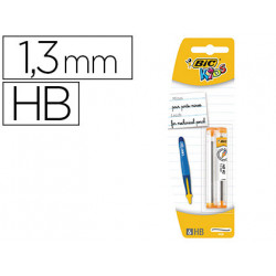 Minas bic kids bp twists grafito hb 13 mm blister de 2 tubos con 6 minas