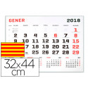Calendario pared liderpapel 2018 32x44 cm papel 70 gr texto en catalan