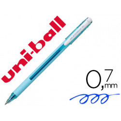 Boligrafo uniball roller jetstream sx101 07 mm azul cielo tinta gel azul