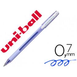 Boligrafo uniball roller jetstream sx101 07 mm lavanda tinta gel azul