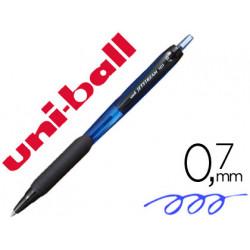 Boligrafo uniball jetstream retractil sxn101 07 mm azul