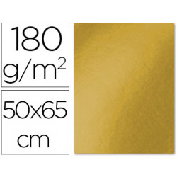 Cartulina liderpapel 50x65 cm 180 gr oro viejo unidad