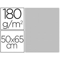 Cartulina liderpapel 50x65 cm 180 gr gris unidad