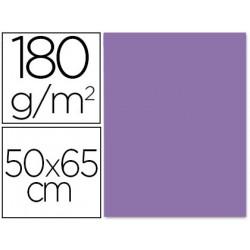 Cartulina liderpapel 50x65 cm 180 gr purpura unidad