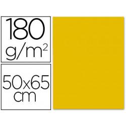 Cartulina liderpapel 50x65 cm 180 gr oro unidad