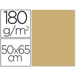 Cartulina liderpapel 50x65 180 gr avellana paquete de 25