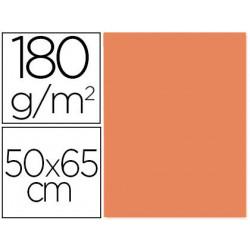 Cartulina liderpapel 50x65 180 gr nectarina paquete de 25