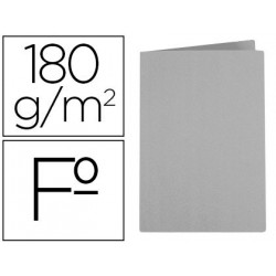Subcarpeta liderpapel folio gris intenso 180g/m2