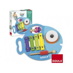 Juego goula didactico glupy musical 3 en 1