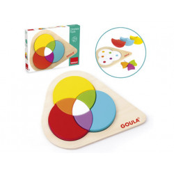 Puzzle goula chromatic 7 piezas