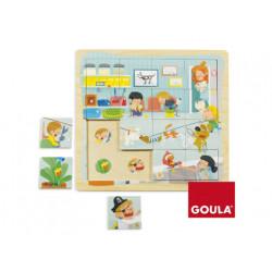 Puzzle goula clinica veterinaria 16 piezas