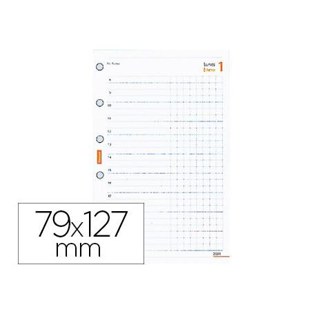 Recambio agenda finocam 603 anualidad 127x79 mm