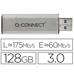 Memoria usb qconnect flash 128 gb 30
