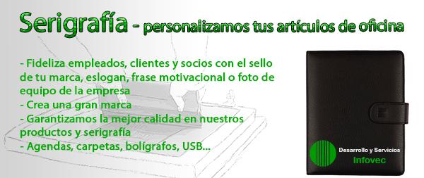Serigrafía - Personalización de artículos de oficina
